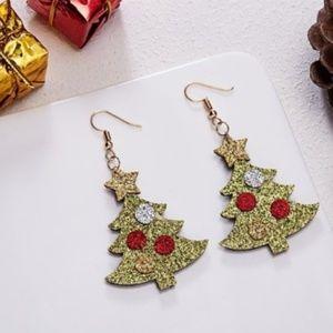 Jewelry - ***3/$20~Christmas Tree Earrings***